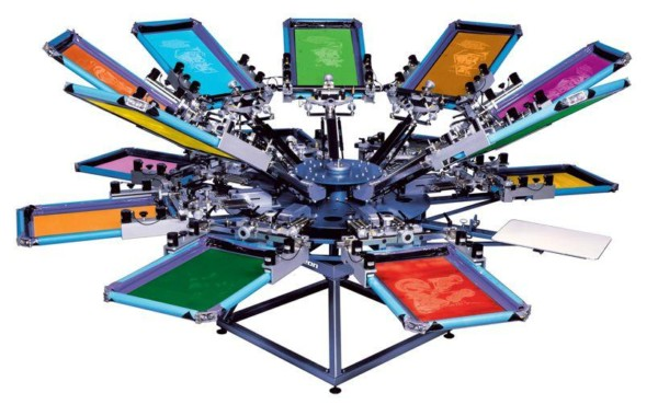 embroidery and screen printing machines